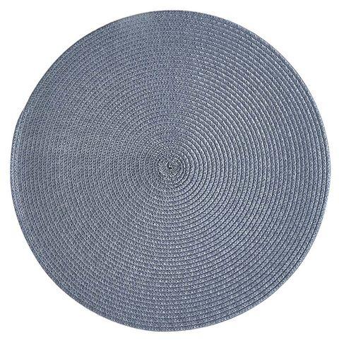 Mantel individual de plástico azul