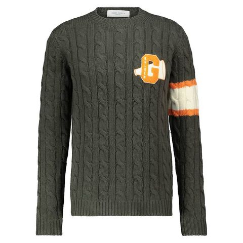 golden goose   cable knitted wool sweater   kabeltrui