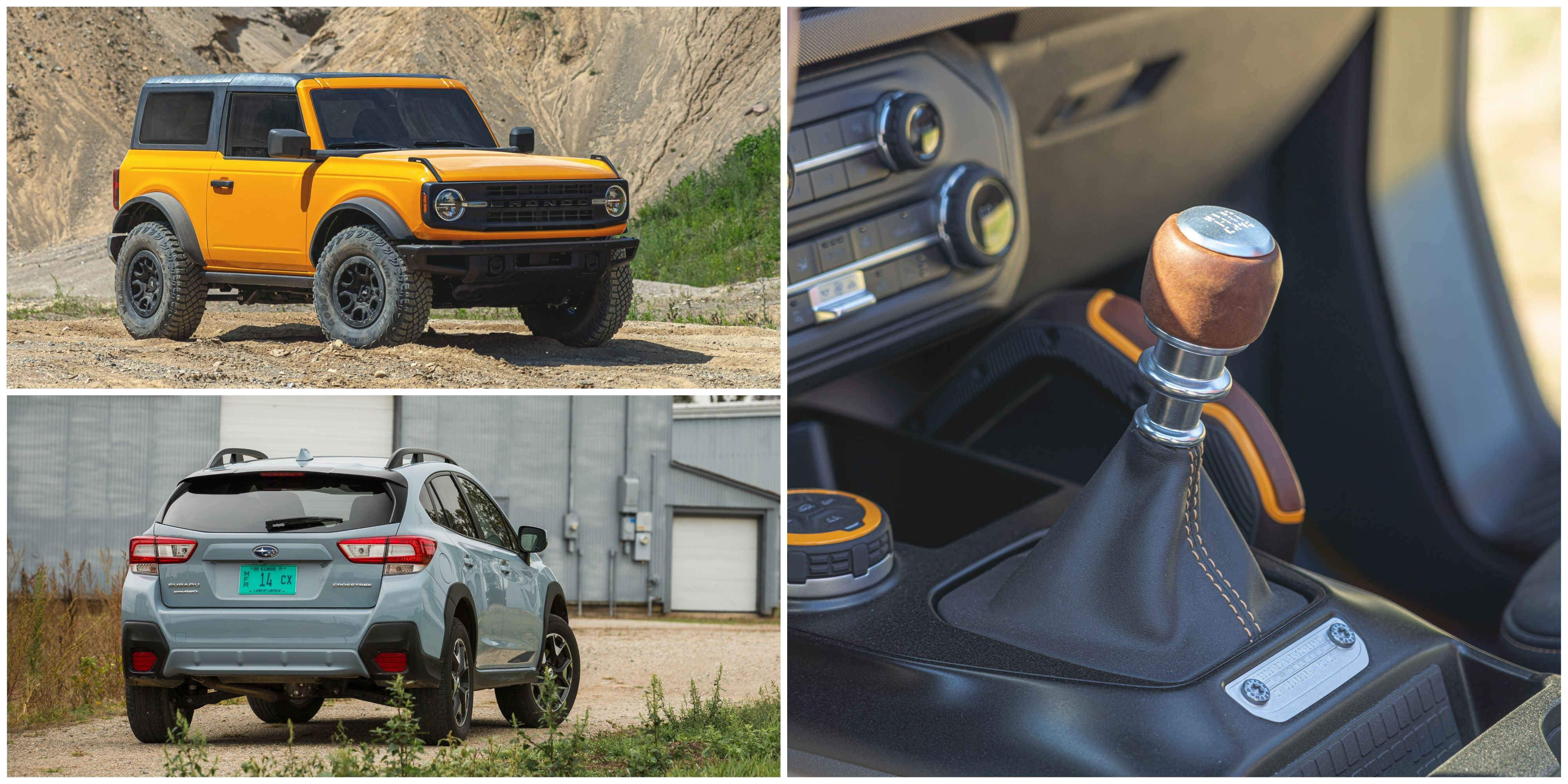 Every Crossover And Suv With A Manual Transmission