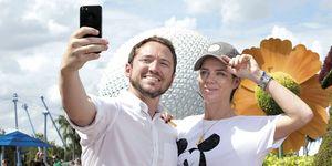 Amelia Bono y Manuel Martos, vacaciones en Walt Disney World Resort.