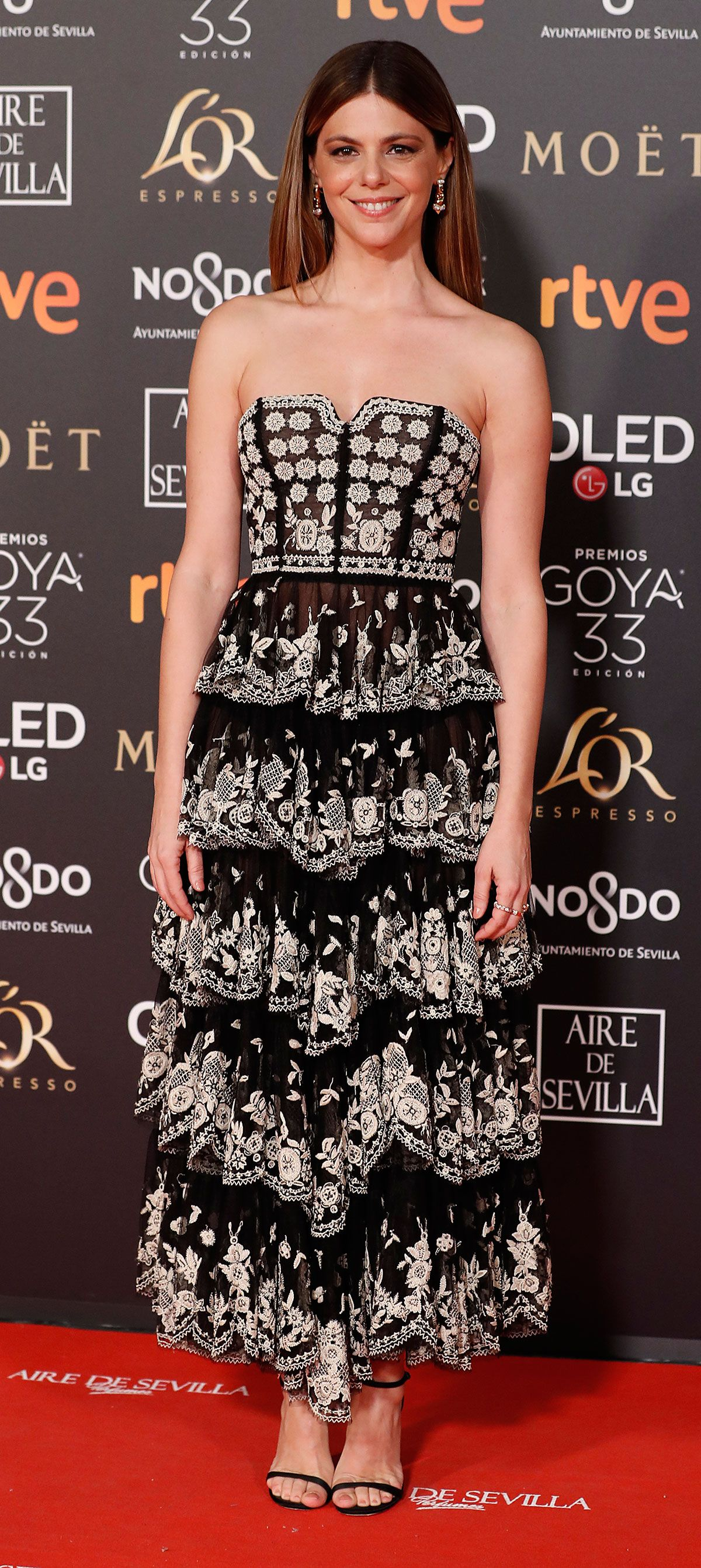 390a2c4cf Todos los looks de la alfombra roja de los premios Goya 2019