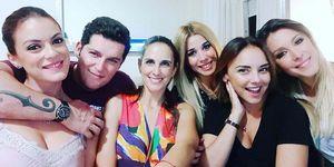 Chenoa, Manu Tenorio, Gisela, Natalia, Geno nuevo reencuentro 'O.T. 1'