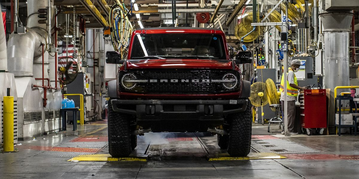 Ford Has Finally Started Building the 2021 Bronco