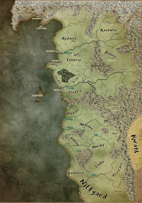 'The Witcher': guía de reinos, ciudades y lugares del Continente