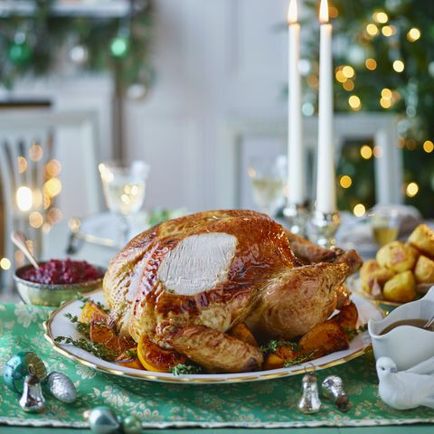 maple and clementine turkey with sherry gravy