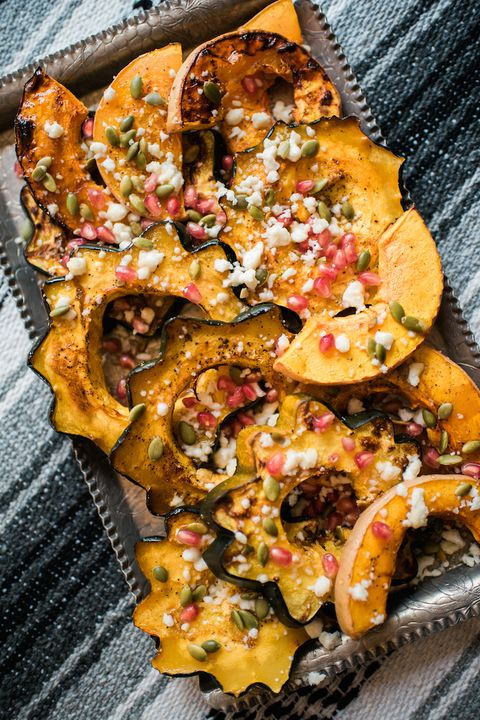 maple roasted winter squash recipe