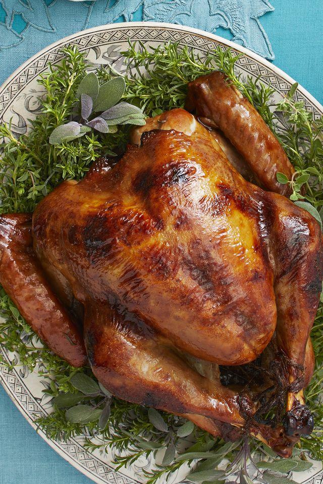 maple rosemary roast turkey