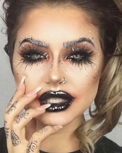 Los Maquillajes De Halloween Mas Buscados En Pinterest Y Como - Maquillaje-halowin