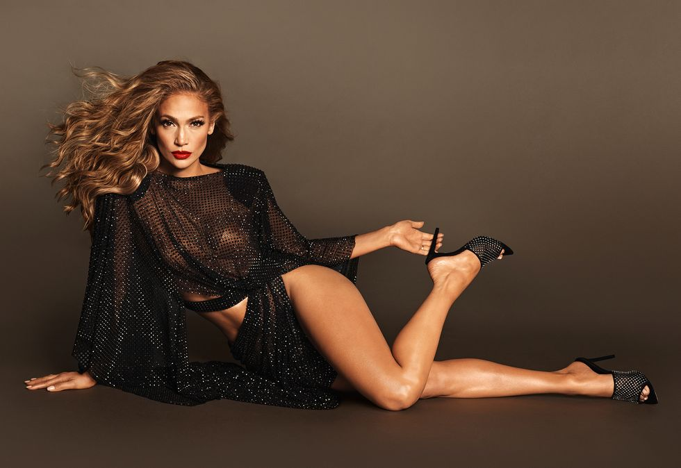 Jennifer Lopez On How She's Quarantining, Her New Shoe Line, and Working From Home