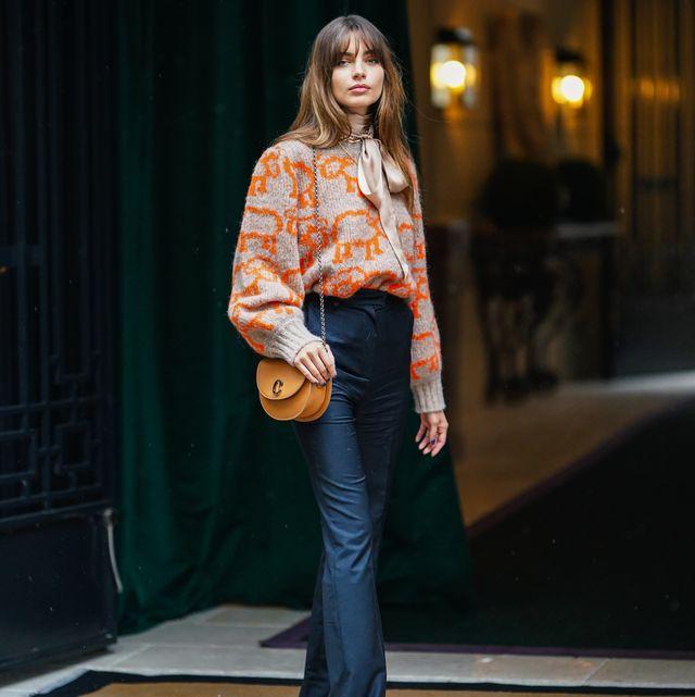 street style at paris fashion week   womenswear spring summer 2021  day eight