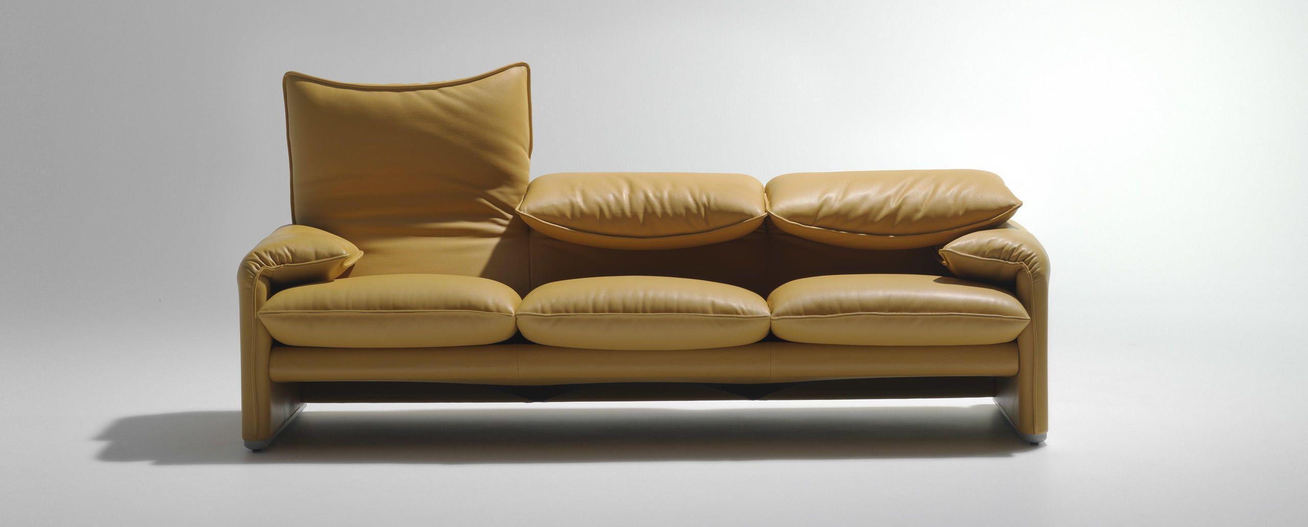 1970s Italian Modern Maralunga Chair Vico Magistretti Cassina Excellent In Quality