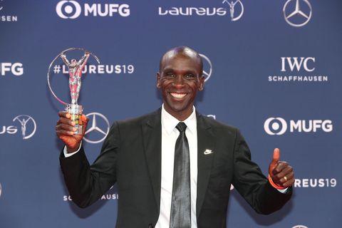 Kipchoge wins Laureus World Sports Awards 2019
