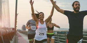 Marathon lopen