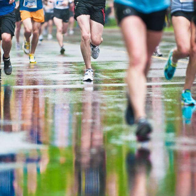 de gemiddelde marathon tijd
