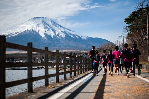 marathon to mt. fuji