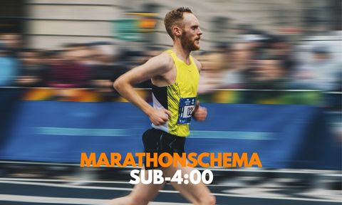 trainingsschema-marathon-onder-4uur