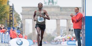 Guye Adola y otros etíopes en el Maratón de Berlín