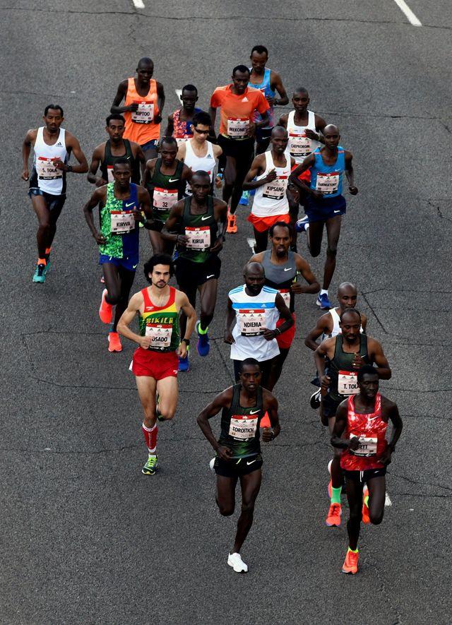 corredores maraton madrid 2019