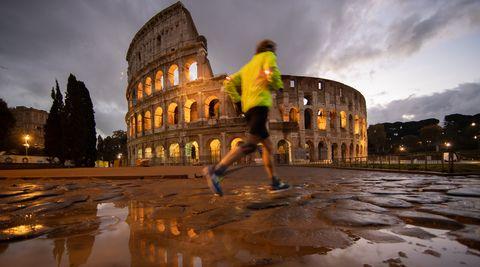 La maratón de Roma, rebautizada comoAceaRun Rome The Marathon para este 2020. Se celebrará el 29 de marzo.