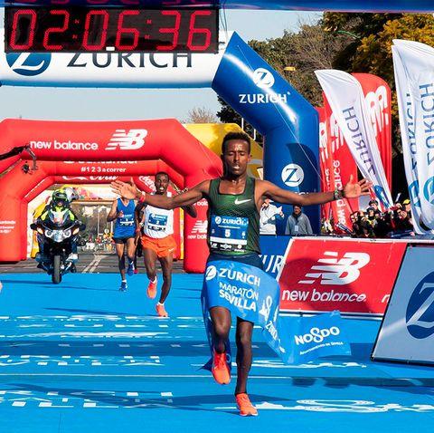 ayana tsedat récord maratón sevilla