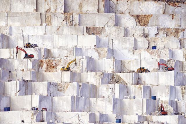 marble mining