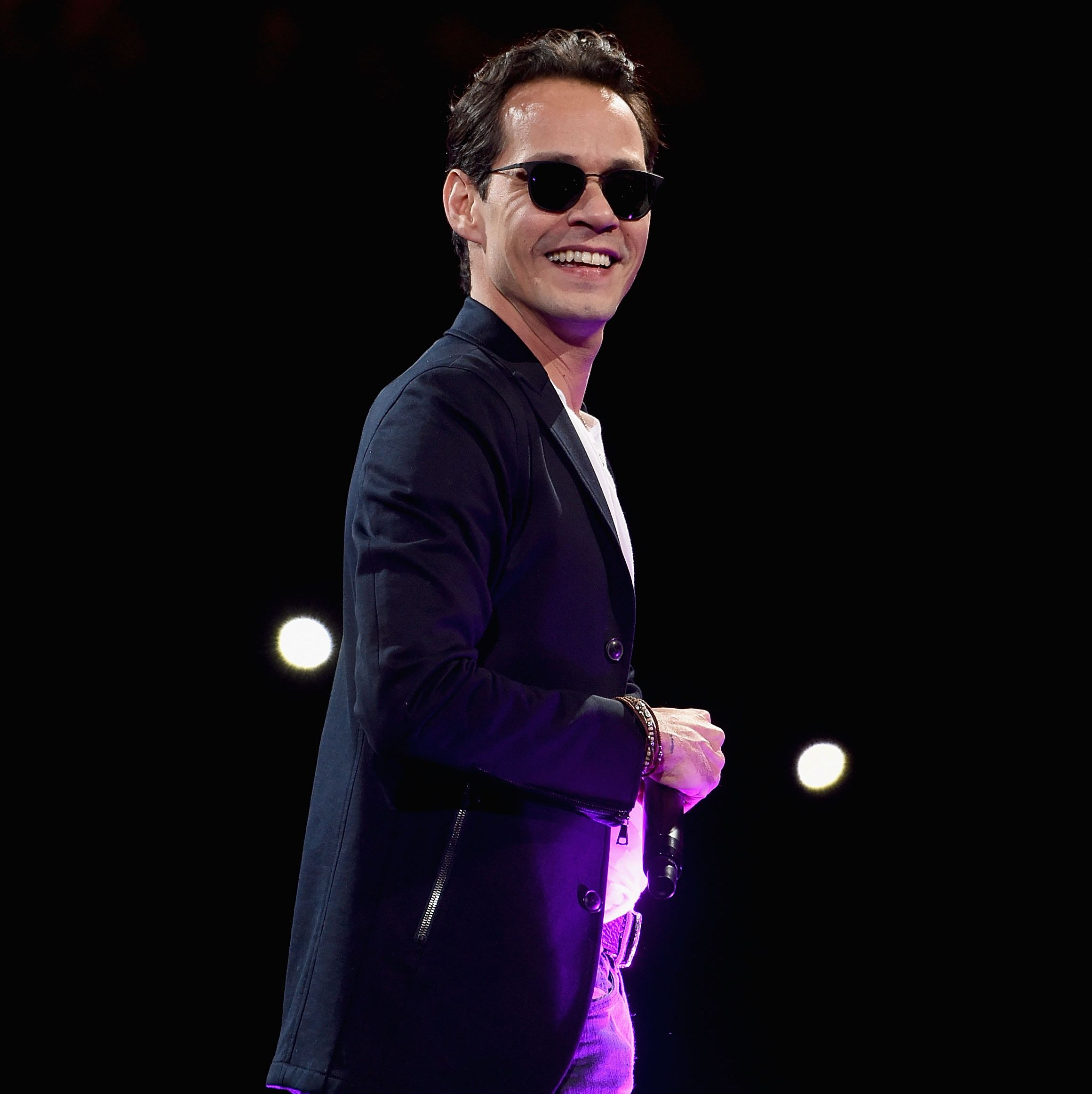 This Is How Marc Anthony Balances His Megawatt Career with His Six Kids