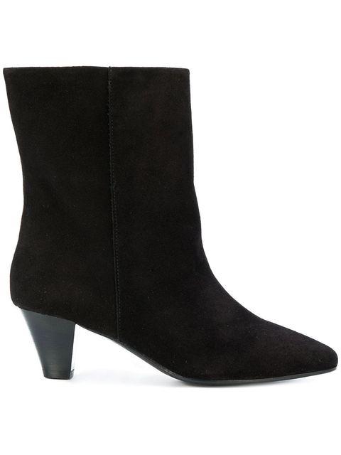 Footwear, Shoe, Leather, Boot, High heels, Suede, Durango boot,