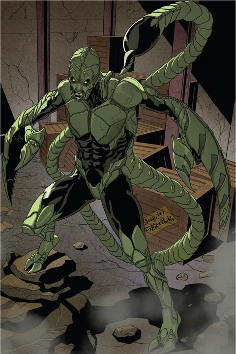 marc gargan scorpion