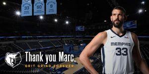 Marc Gasol será el primer español en la NBA que verá retirada su camiseta