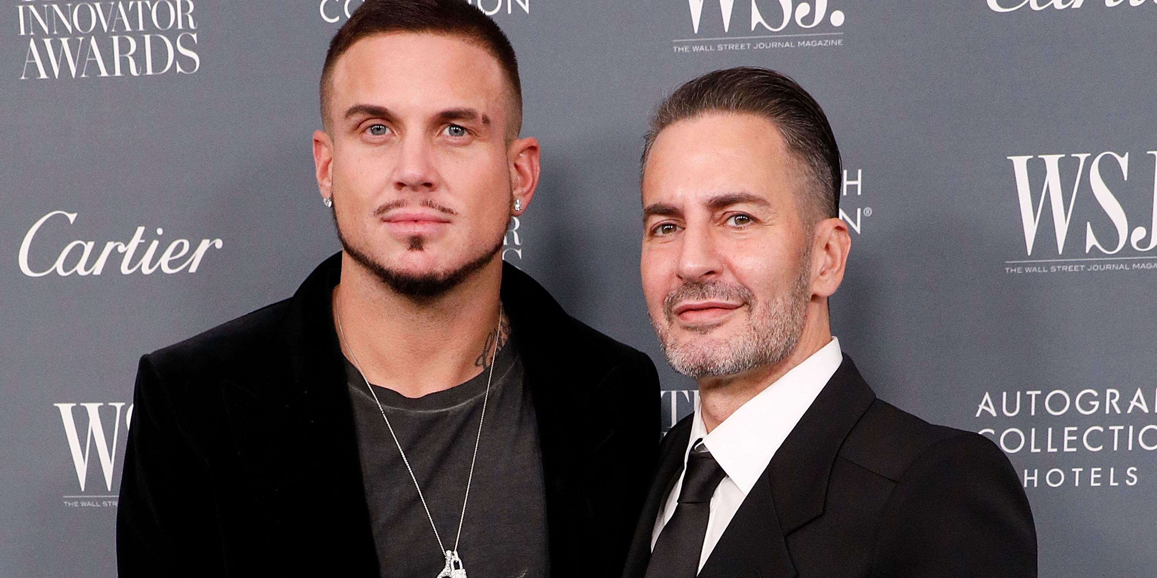 Marc Jacobs and Charly Defrancesco