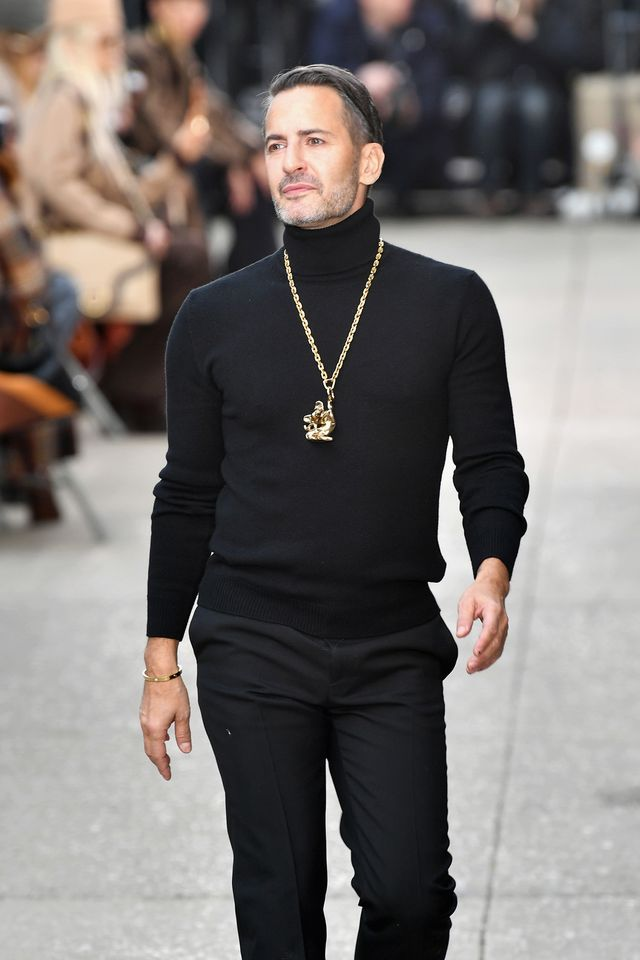 new york, ny   february 16  designer marc jacobs walks the runway for the marc jacobs fall 2017 show at park avenue armory on february 16, 2017 in new york city  photo by slaven vlasicgetty images for marc jacobs