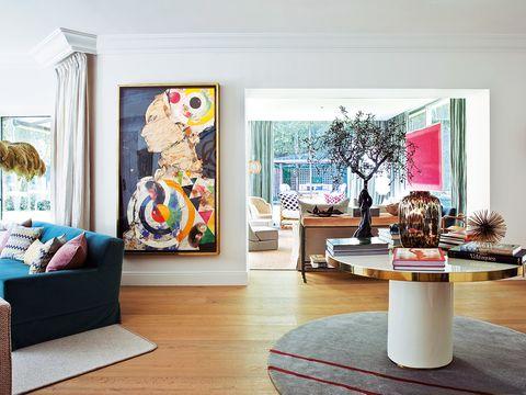 arte contemporáneo en casa reformada