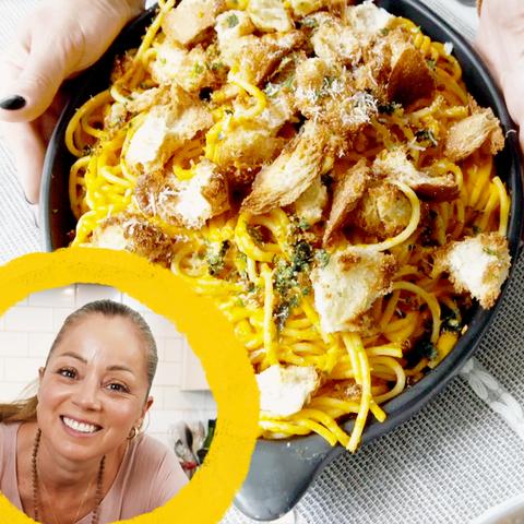 marcella valladolid's chipotle spaghetti
