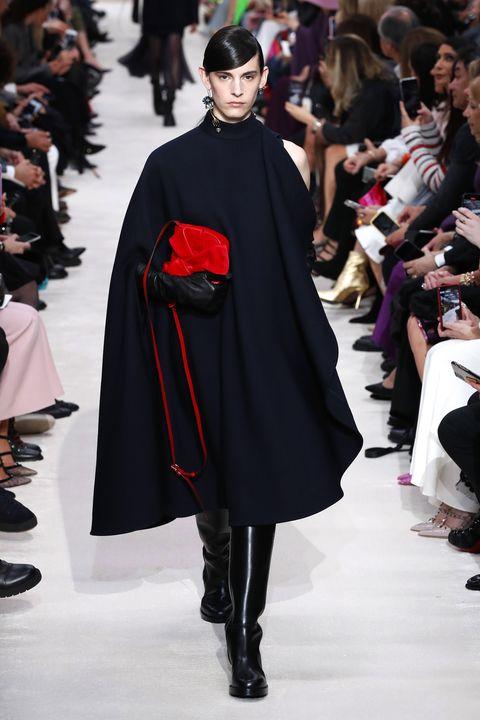 valentino  runway   paris fashion week womenswear fallwinter 20202021