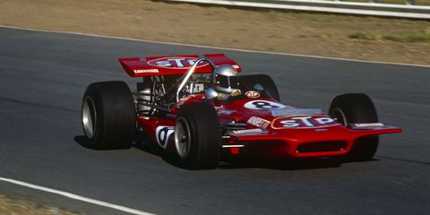 Mario Andretti driving a March 701.