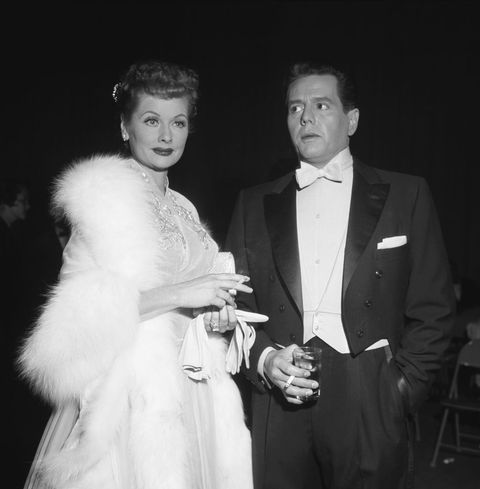 March 16, 1957, Burbank, Lucille Ball and Desi Arnaz