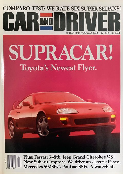 001cf35183f1b 2020 Toyota Supra vs. 1993 Toyota Supra Turbo – Performance Test ...