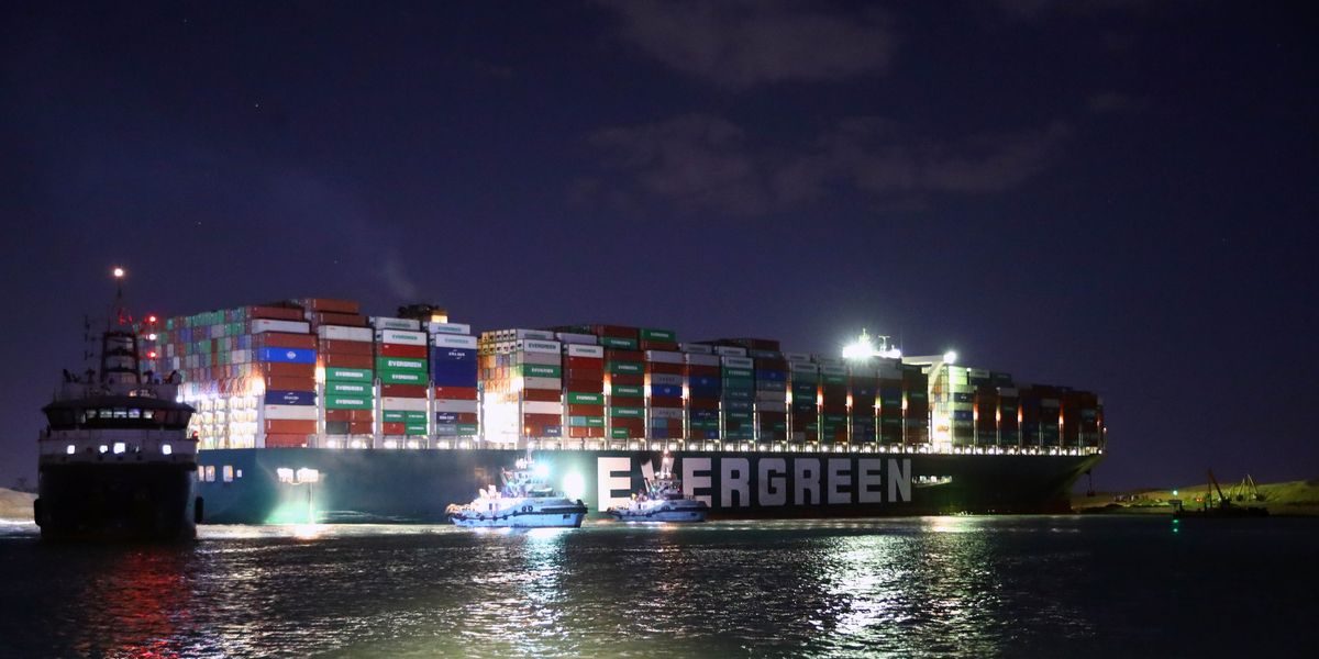 More Trouble for Evergreen Suez Canal Ship, Now Being Held Captive