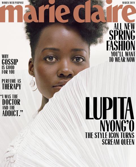 Lupita Nyongo Sex Porn - Lupita Nyong'o Talks Us Movie, Black Panther, and Working ...