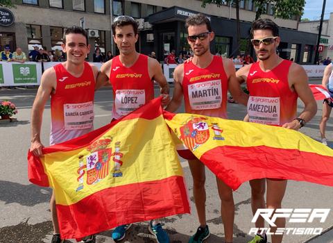 España, oro en 20km en la Copa de Europa de marcha