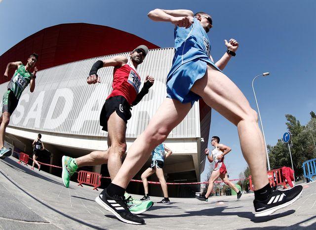 10 km marcha del gp nacional de marcha atlética ciudadela de pamplona