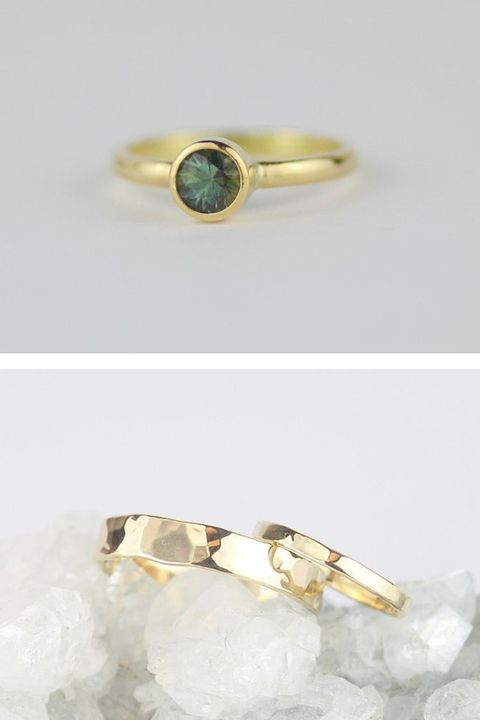 best engagement wedding rings etsy