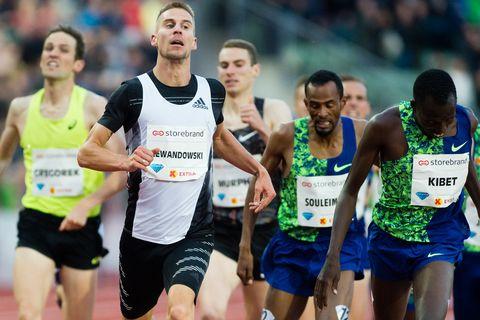 Marcin Lewandowski gana la Dream Mile de Oslo