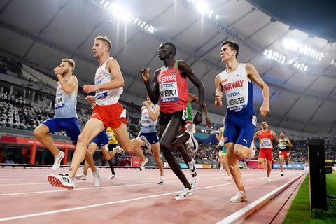 Kevin López, 1.500m, Jesús Gómez, Mundial de atletismo, Doha 2019
