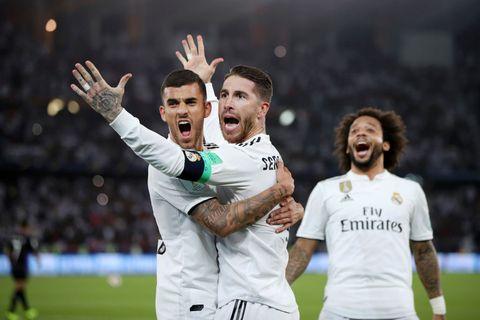 Marcos Llorente lidera al Real Madrid campeón del mundo de clubes