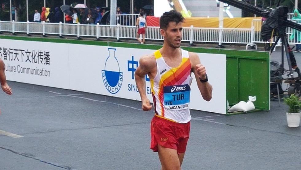 Marcha: Marc Tur se gana la plaza olímpica en Podebrady