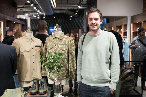 Outerwear, Design, Jacket, Military uniform, Jeans, Uniform,