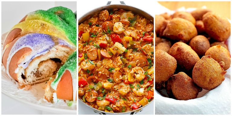Best mardi gras food menu easy recipes for mardi gras let the good times roll with easy recipes that salute the big easy from shrimp poboys to pecan pralines also check out these mardi gras fun facts and forumfinder Image collections