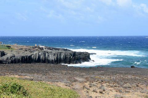 Mare mosso e paesaggio marino
