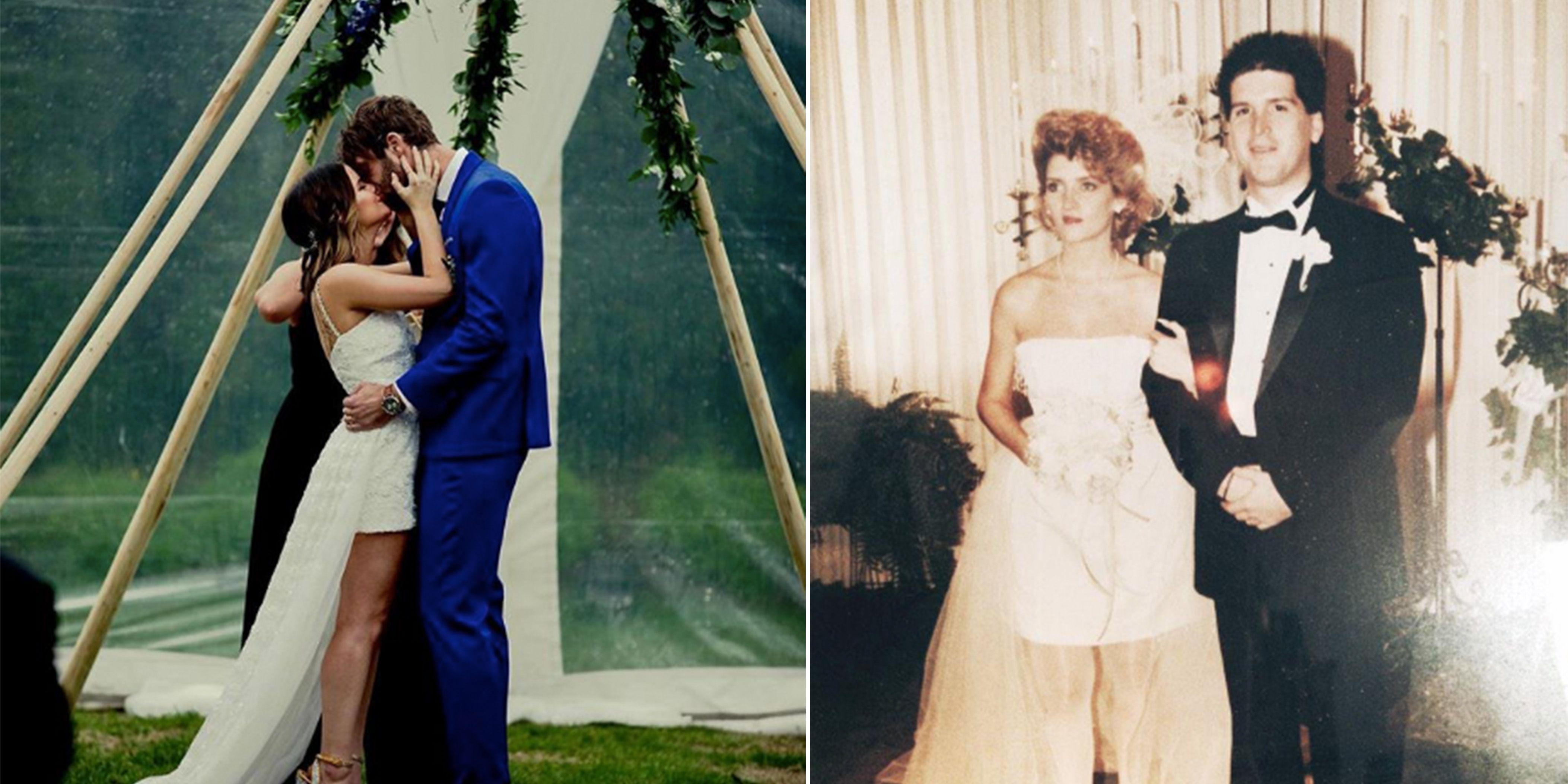 maren morris wedding dress